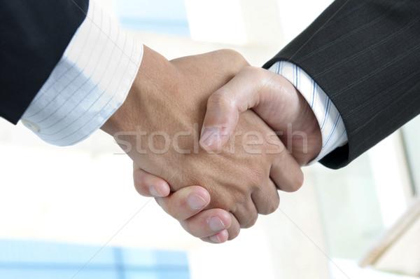 Handshake Stock photo © szefei