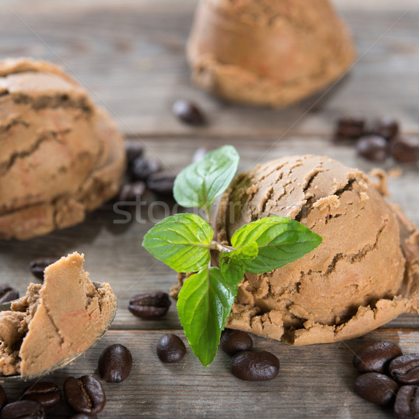 coffee ice cream  Stock photo © szefei
