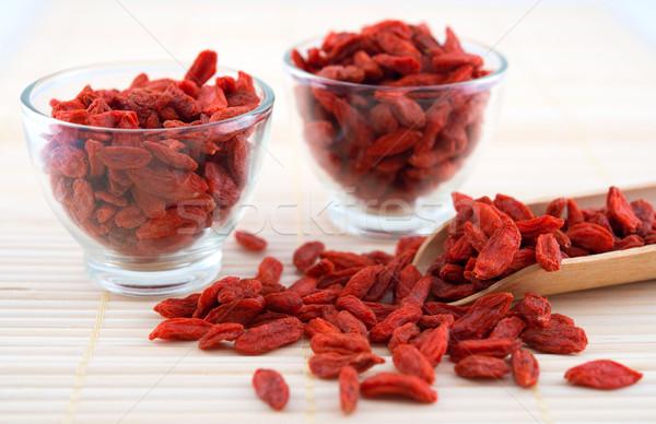 Goji berry, wolfberry or lycium Stock photo © szefei