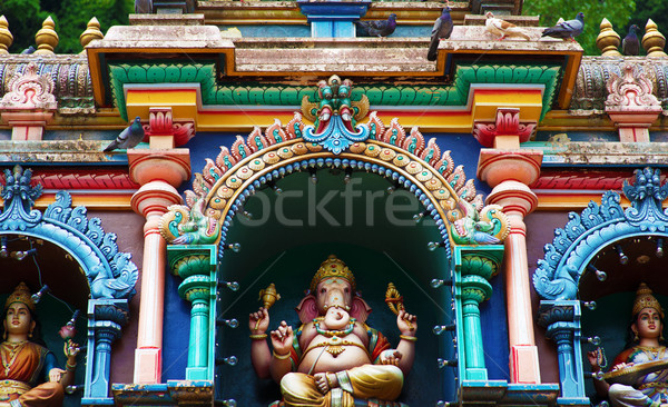 Batu caves Indian Temple Stock photo © szefei
