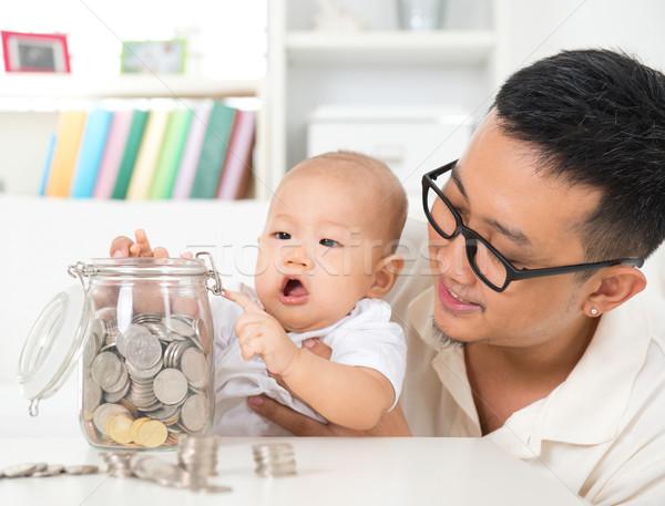 Saving money. Stock photo © szefei