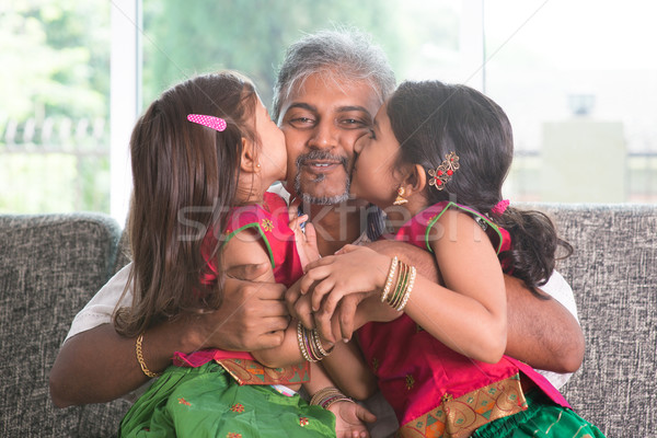 We love you daddy. Stock photo © szefei