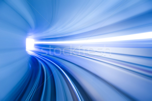 аэропорту транзит фото глядя поезд внутри Сток-фото © szefei
