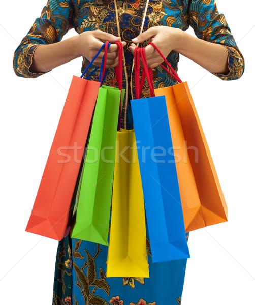 Asia shopping paradise Stock photo © szefei
