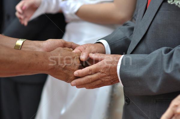 Welcoming guest Stock photo © szefei