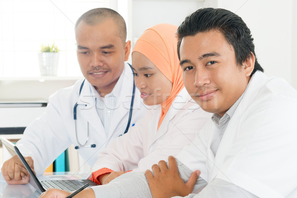 Сток-фото: врачи · больницу · служба · медицинской · команда