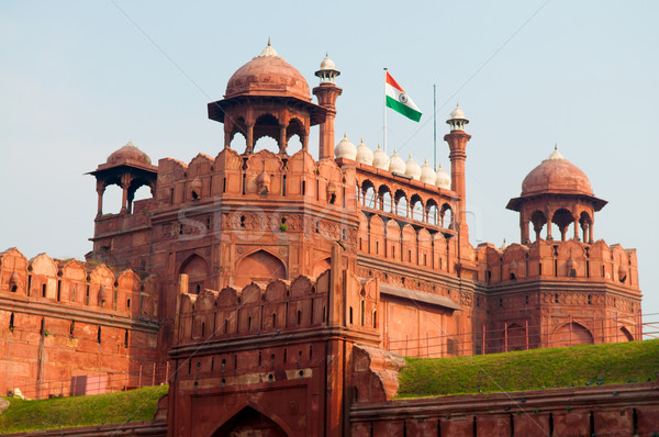 Red Fort India Stock photo © szefei