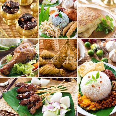 Toplama Asya mutfak köri Stok fotoğraf © szefei