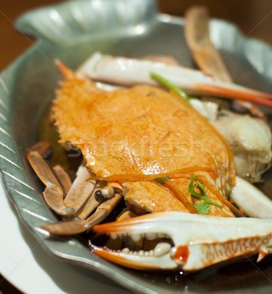 Japanese granchio cucina alimentare ristorante Foto d'archivio © szefei