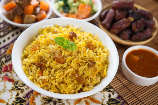 Arabian rice Stock photo © szefei