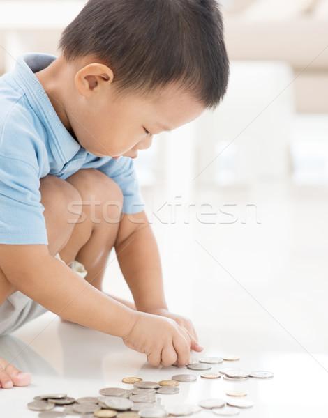 Enfant fonds asian Kid Photo stock © szefei