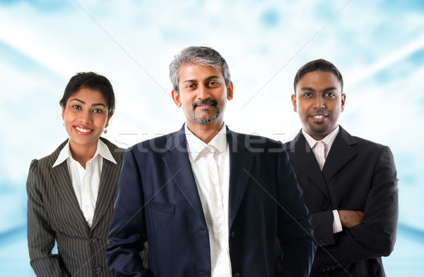 Indian business team.   Stock photo © szefei