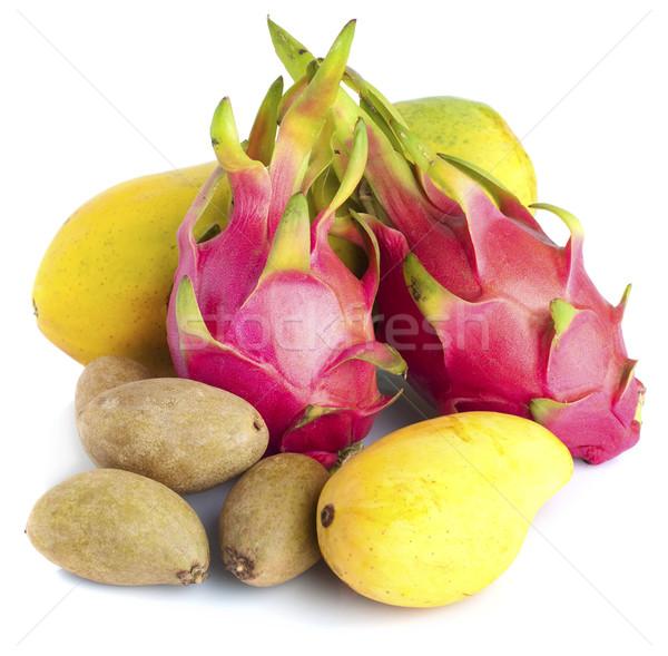 Tropical fruits Stock photo © szefei