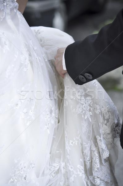 Stock photo: Wedding Dress