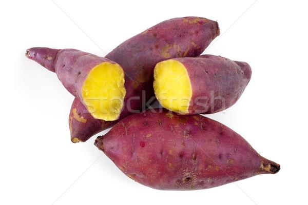 Sweet potatoes Stock photo © szefei