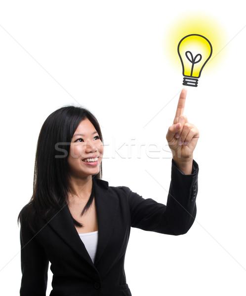 Light bulb idea Stock photo © szefei