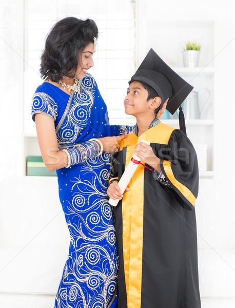 Kindergarten graduation day. Stock photo © szefei