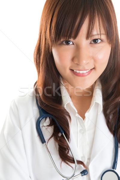Nursing student.  Stock photo © szefei