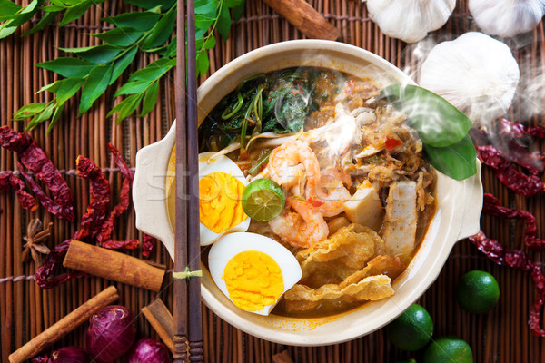 Malaysian food Stock photo © szefei