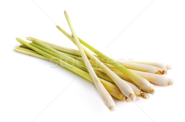 лимона трава свежие белый продовольствие природы Сток-фото © szefei