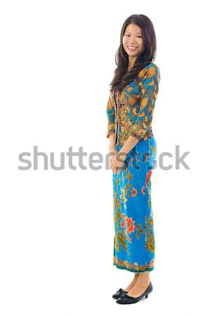 Fullbody southeast Asian female Stock photo © szefei