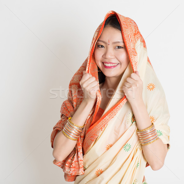 Indian Muslim girl  Stock photo © szefei