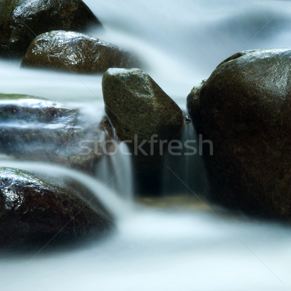 Silky water. Stock photo © szefei