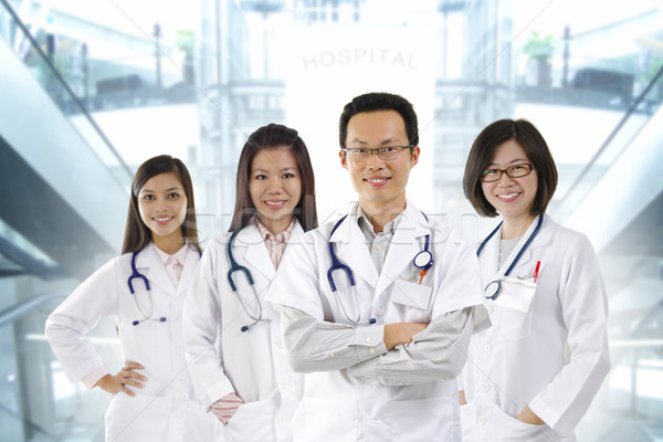 Medical team Stock photo © szefei