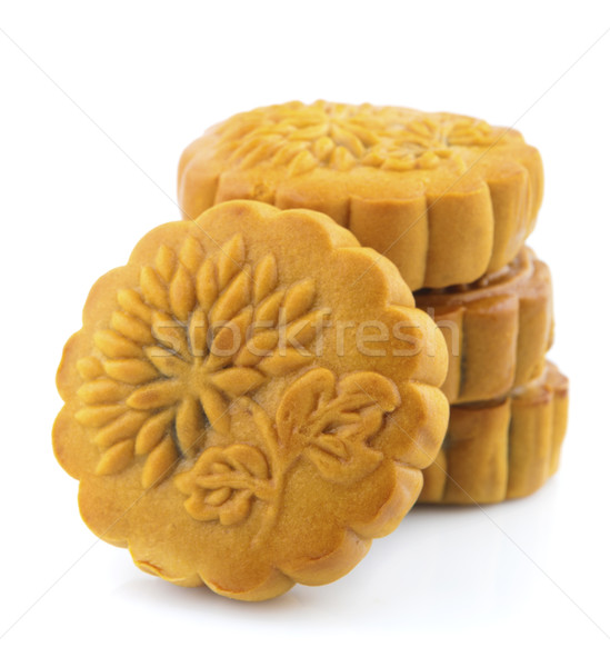 Stock photo: Stack of Mooncakes
