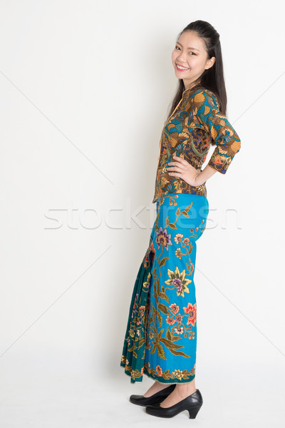 Southeast Asian woman Stock photo © szefei