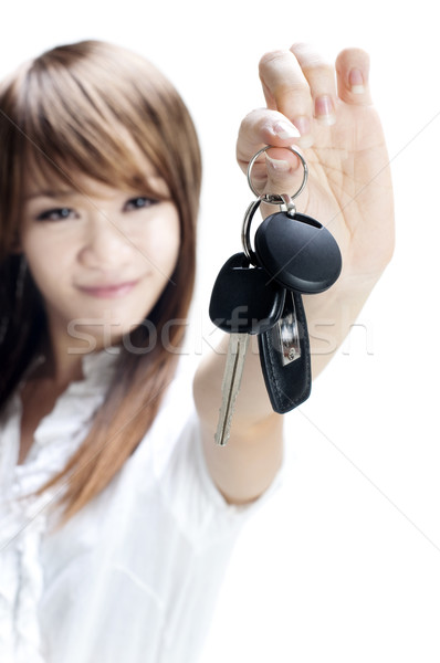 My first own car Stock photo © szefei