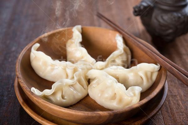 Chinese Dumplings Stock photo © szefei