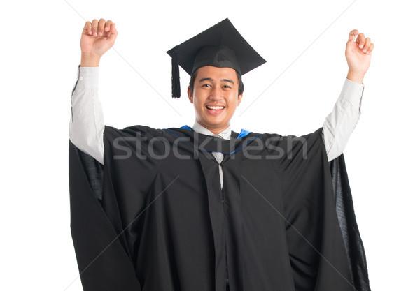 University student graduating Stock photo © szefei