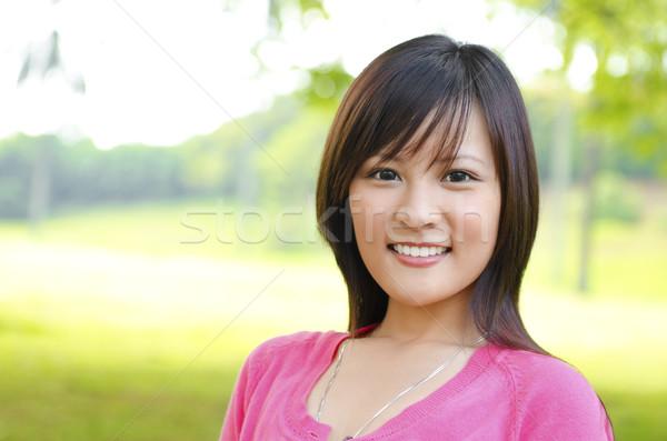Asian woman outdoor Stock photo © szefei