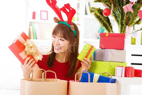 Christmas presents Stock photo © szefei