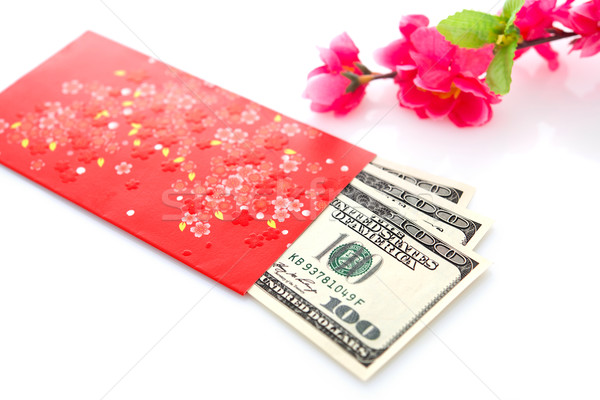 Chinese new year red packet Stock photo © szefei