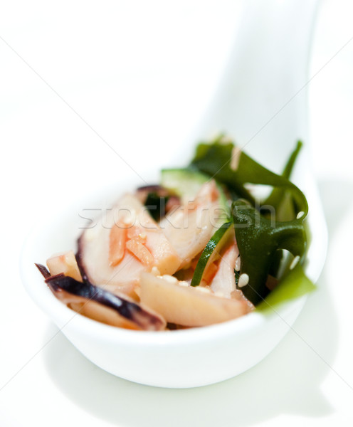 Sashimi lezzetli renk Asya Stok fotoğraf © szefei