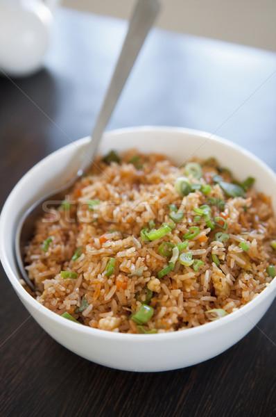 Singaporean fried rice Stock photo © szefei