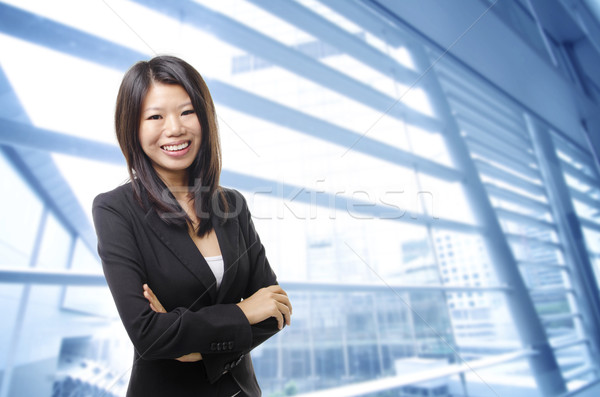 Young Executive Stock photo © szefei