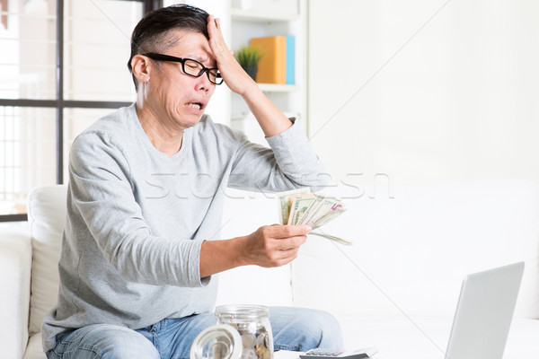 Financial crisis concept. Stock photo © szefei