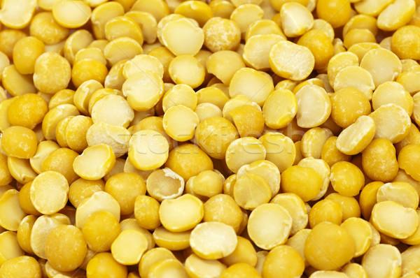 Split yellow peas Stock photo © szefei