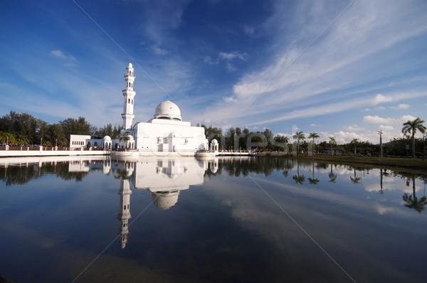 Mosque Malaysia Stock photo © szefei