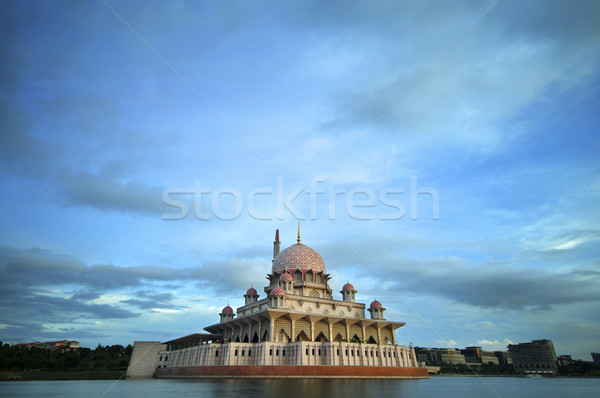 Malaysia Putrajaya Putra Mosque Stock photo © szefei