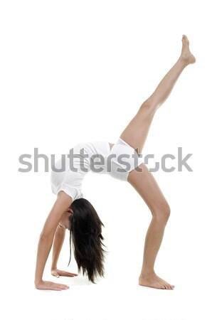 Yoga Posture Stock photo © szefei