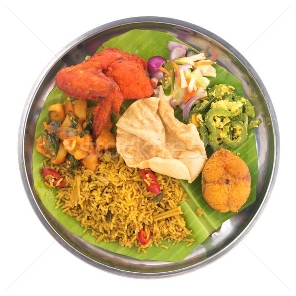 Indian biryani rice Stock photo © szefei