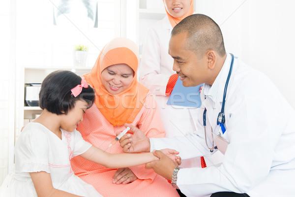 Children vaccination concept Stock photo © szefei