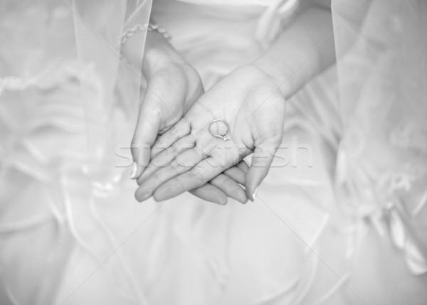 Wedding ring Stock photo © szefei