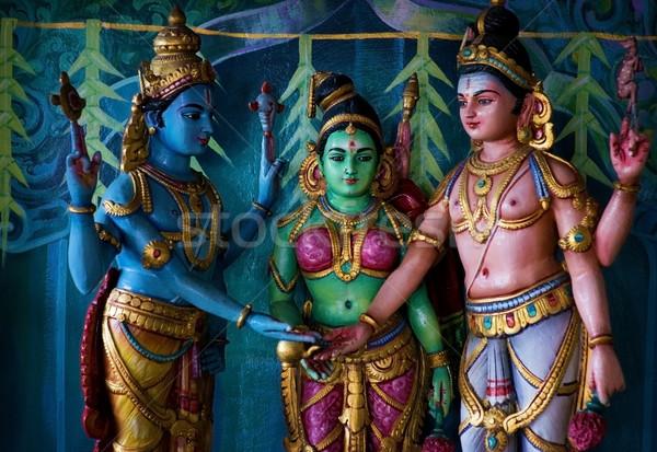 Indian temple Stock photo © szefei