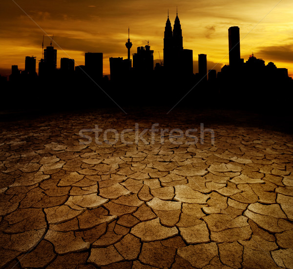 Global Warming Concept Image Stock photo © szefei