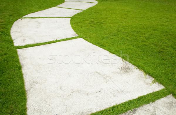 Garden Path Stock photo © szefei